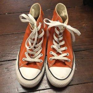 Fall Orange Converse